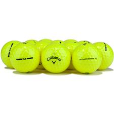 Callaway Golf Logo Overrun Prior Generation Supersoft Yellow Golf Balls