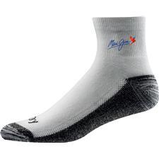 FootJoy Men's FJ ProDry Quarter Custom Logo Sock - White