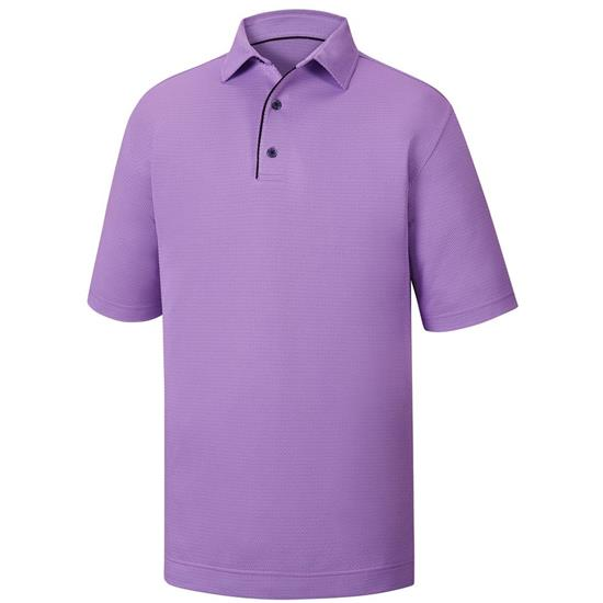 FootJoy Men's Geo Jacquard Self Collar Polo - Previous Season