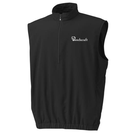 FootJoy Men's Half-Zip Custom Logo Windshirt Vest