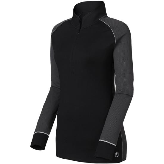 FootJoy Jacquard Dot Half-Zip Pullover for Women