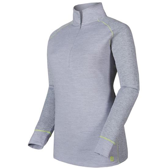 FootJoy Jacquard Dot Half-Zip Pullover for Women