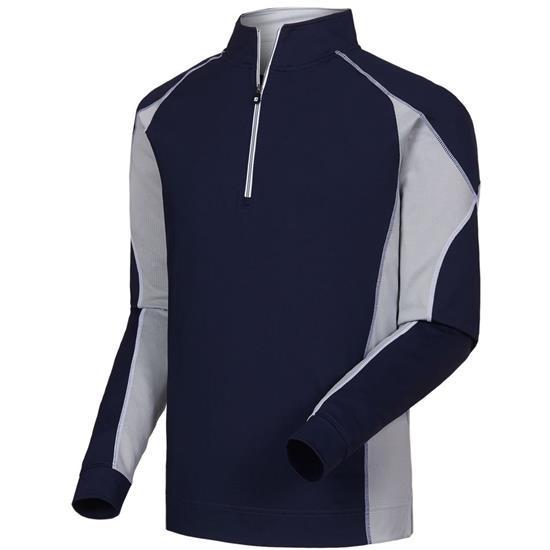 FootJoy Men's Mixed Texture Sport 1/2 Zip Pullover