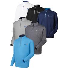 FootJoy Custom Logo Performance Half-Zip Pullover with Gathered Waist
