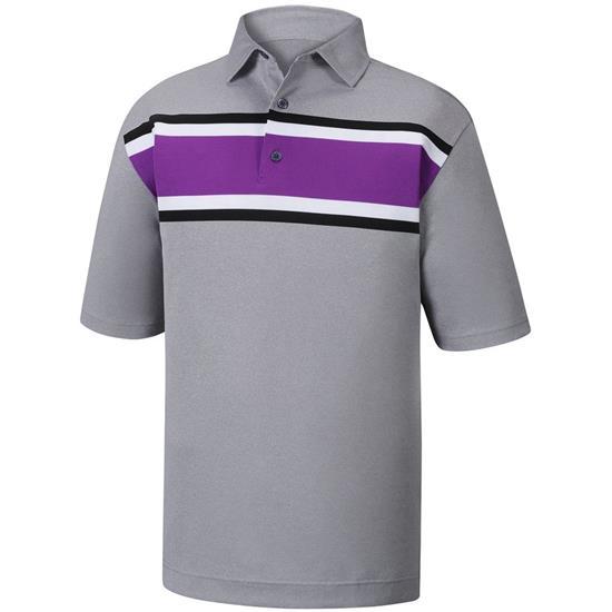 FootJoy Men's Multi Stripe Self Collar Polo Previous Season