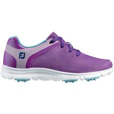 FootJoy Purple-Light Blue Sport SL Golf Shoes for Juniors