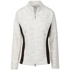 Greg Norman Diamond Melange Blocked Jacket for Women