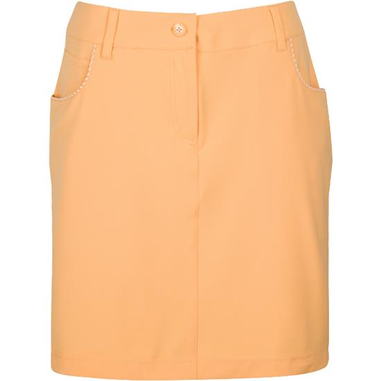 Greg Norman ML75 Microlux Check Trim Skort for Women