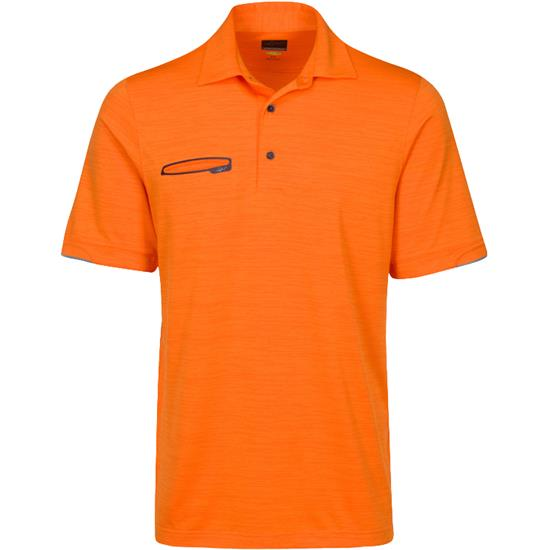 Greg Norman Men's Tonal Space Dye Polo