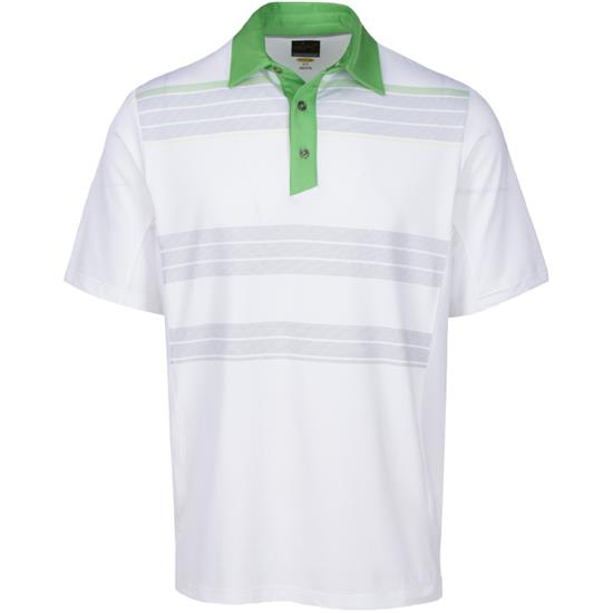 Greg Norman Men's Weatherknit Embossed Polo