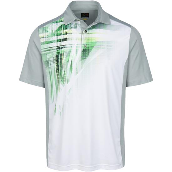 Greg Norman Men's Weatherknit Sublimation Polo
