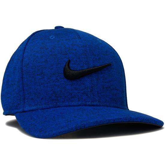 eebff0731f6 Nike Men s Heather Aerobill Classic 99 Hat - Blue Jay-Black-Black ...