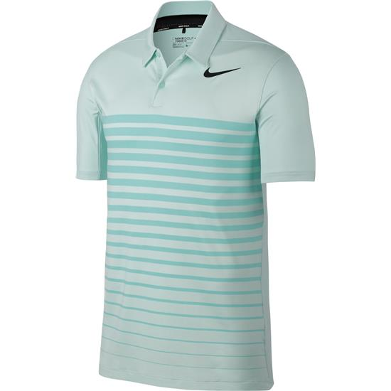 Nike Men's Heather Stripe Dry Polo Closeout Color