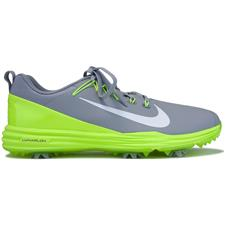 Nike Wolf Grey-White-Volt Lunar Command 2 Golf Shoes