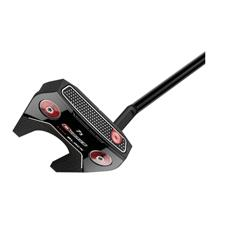 Odyssey Golf O-Works Black #7S Putter w/ Winn Mid Pistol Grip