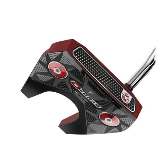 Odyssey Golf O-Works Red #7 Putter w/ SS Mid Slim 2.0 Grip