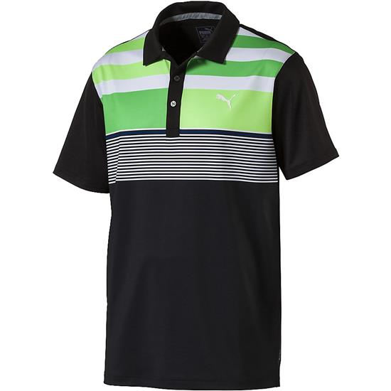 Puma Men's Road Map Asym Polo