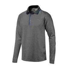Puma Men's Tailored Long Sleeve Polo