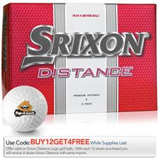 Srixon Distance Custom Logo Golf Balls