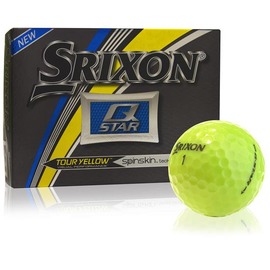 Srixon Prior Generation Q-Star Yellow Golf Balls