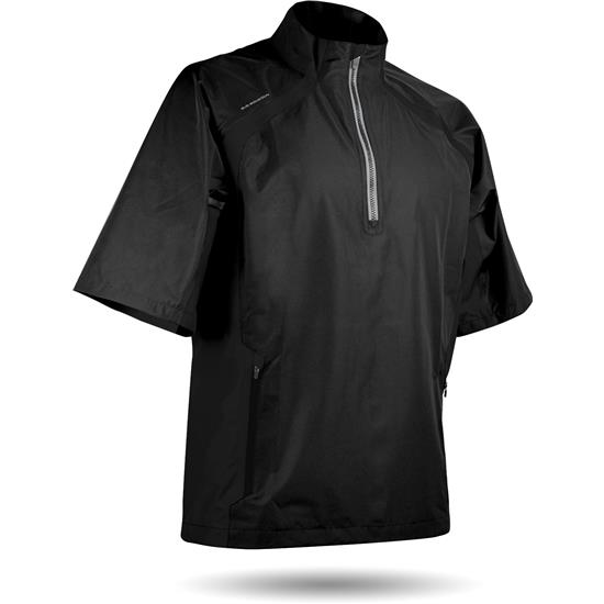 Sun Mountain Men's Cumulus Short Sleeve Rainwear Pullover
