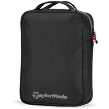 Taylor Made Players Practice Custom Logo Ball Bag - Black-Gray-Red