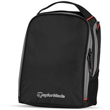 Taylor Made Players Custom Logo Shoe Bag - Black-Gray-Red