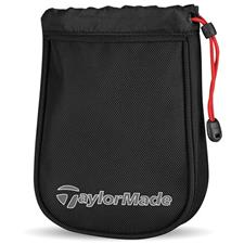 Taylor Made Players Custom Logo Valuables Pouch - Black-Gray-Red