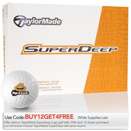 Taylor Made SuperDeep Golf Balls