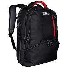 Titleist Essentials Custom Logo Backpack - Black-Red-White