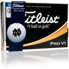 Titleist Notre Dame Fighting Irish Pro V1 Collegiate Golf Balls