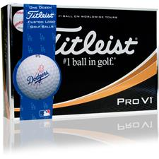 Titleist Prior Generation Pro V1 MLB Golf Balls - Los Angeles Dodgers