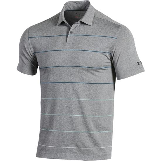 Under Armour Men's Coolswitch Pivot Stripe Polo