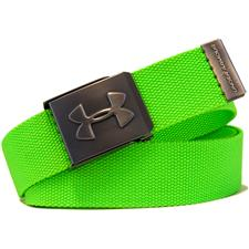 Under Armour UA Webbing Golf Belt - Poison - Adjustable
