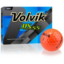 Volvik DS-55 Orange Golf Balls