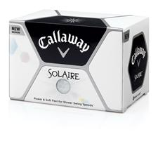 Callaway Golf Solaire Personalized Golf Balls - White