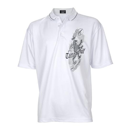 Tattoo Golf Men's The Versailles - High Performance Polo Shirt