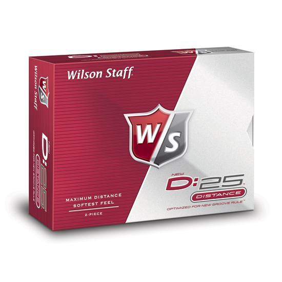 Wilson Staff D:25 Golf Balls