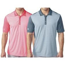 Adidas Men's ClimaChill Heather Stripe Polo