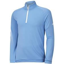 Adidas Men's ClimaWarm 3-Stripes 1/2 Zip Layering Top