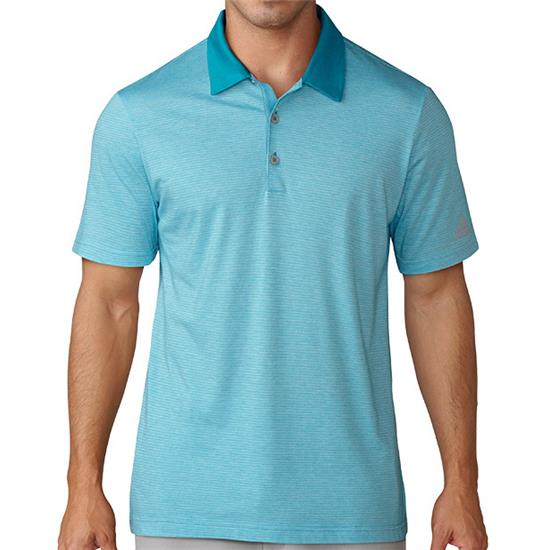 Adidas Men's Club Cotton-Hand Mini Stripe Polo