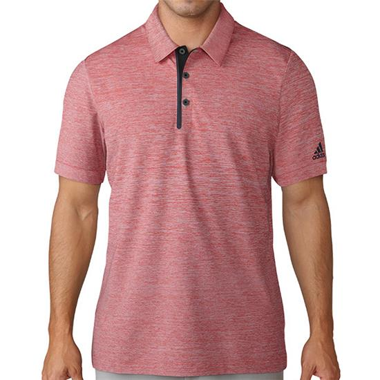 Adidas Men's Gradient Heather Jersey Polo