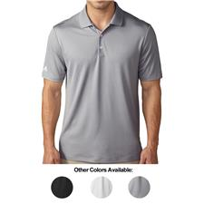 Adidas Custom Logo Performance Solid Polo