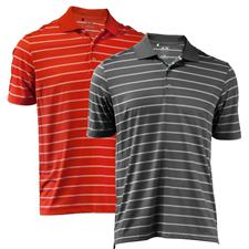 Adidas Men's Puremotion 2-Color Stripe Polo