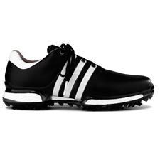 Adidas Core Black-Running White-Core Black Tour 360 Boost 2.0 Golf Shoes