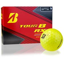 Bridgestone Tour B RX Yellow Personalized Golf Balls