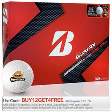 Bridgestone Tour B330-RX B Mark Custom Logo Golf Ball