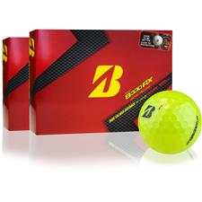 Bridgestone Tour B330-RX Yellow B Mark Golf Balls - 2 Dozen