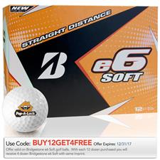 Bridgestone e6 Soft Custom Logo Golf Balls