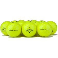 Callaway Golf Logo Overrun Prior Generation Chrome Soft X Yellow Golf Balls